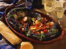 Lachsforelle mit Kartoffelgemüse Rezept