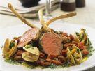 Lamm-Chops mit Muscheln und Bohnen Rezept