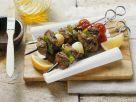Lamm-Gemüse-Spieße Rezept