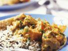 Lammcurry mit Süßkartoffel dazu Wildreis Rezept