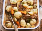 Lammeintopf aus dem Ofen mit Klößen Rezept