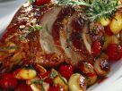 Lammkeule mit Schalotten und Rosmarin Rezept