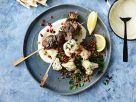Lammspieße mit Blumenkohl-Linsen-Salat Rezept