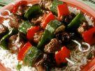 Lammspieße mit Reis Rezept