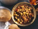 Lammtopf mit Kichererbsen Rezept
