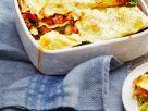 Lasagne mit italienischer Wurst und Grünkohl Rezept