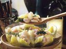 Lauch-Shrimpssalat Rezept