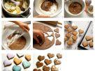 Lebkuchen in Herzform Rezept