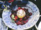 Lebkuchenauflauf mit Kirschen Rezept
