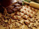 Lebkuchenrauten mit Schokoüberzug Rezept