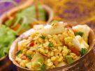 Linsen mit gebratenem indischem Käse (Paneer) Rezept