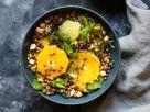 Linsensalat mit Zitrusfrüchten und Nüssen Rezept