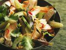 Lotussalat mit Shrimps Rezept