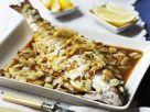 Loup de mer mit Zwiebelsauce Rezept