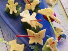 Lustige Käsespießchen Rezept