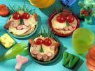 Lustige Pfannkuchengesichter Rezept