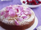 Mandel-Joghurt-Kuchen mit Rosensirup Rezept