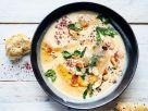Mandel-Rübchen-Suppe Rezept