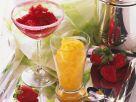 Mango- und Erdbeersorbet Rezept