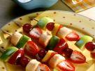 Marinierte Fruchtspieße Rezept
