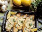 Marinierter, gebackener Schwertfisch Rezept