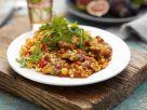 Marokkanische Hähnchenpfanne mit Couscous Rezept