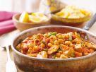 Marokkanische Hühnchen-Kichererbsenpfanne Rezept
