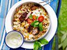 Marokkanischer Reis mit Lamm und Joghurt Rezept