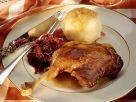 Martinsgans mit Rotkraut und Kartoffelkloß Rezept