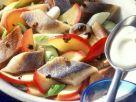 Matjes-Apfel-Salat mit Wacholdercreme Rezept