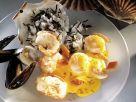 Meeresfrüchte mit Safransauce Rezept