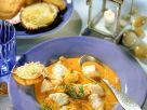 Meeresfrüchtetopf mit Safran Rezept
