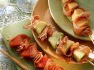 Melonen-Schinken-Spieße Rezept