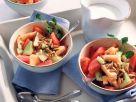 Melonensalat mit Vanillecreme Rezept