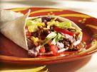 Mexikanische Pfannkuchen mit Hackfleisch und roten Bohnen Rezept
