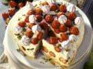 Milchreis-Erdbeertorte Rezept