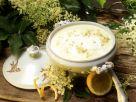 Milchsuppe mit Hollerblüten Rezept