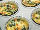Mini-Quiches mit Spinat Rezept