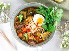 Miso-Ramen-Suppe Rezept