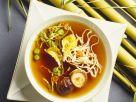 Misosuppe mit Nudeln und Shiitake Rezept
