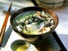 Misosuppe mit Tofu und Rettich Rezept