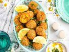 Möhren-Falafeln mit Tahini-Joghurt-Dip Rezept