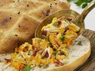 Möhrengemüse mit Brot Rezept