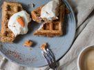 Möhrenkuchen-Waffeln Rezept