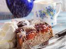 Mohnkuchen mit Zwetschgen Rezept