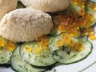Mousse von der Forelle mit Gurkensalat Rezept
