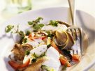 Mozzarella mit Tomaten und gebratenen Pilzen Rezept
