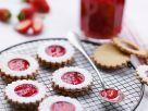 Mürbeteigkekse mit Marmeladenfüllung Rezept