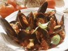 Muscheln mit Tomatensugo Rezept