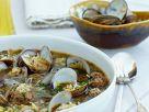 Muschelsuppe mit Fleischbällchen Rezept